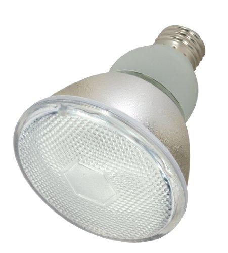 Satco S7204 15-Watt Medium Base PAR30, 2700K, 120V, Equivalent to 50-Watt Incandescent Lamp with U.L. Wet Location Listed