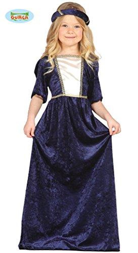 Guirca 85596 - Dama Medieval Infantil Talla 3-4 Años