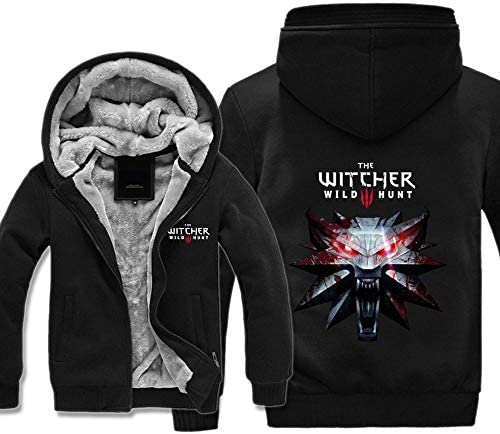 Jacket Hombres Chaqueta con Capucha Suéter- The Witcher 3