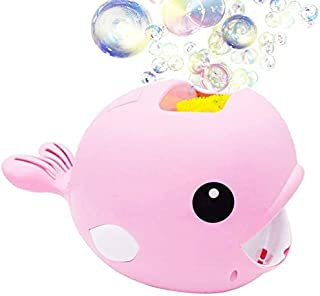 Zpong Whale Automatic Bubble Maker Baby Bath Toy Funny Bubble Maker Pool Swimming Bubble Blower Machine Toys for Kids Chil...