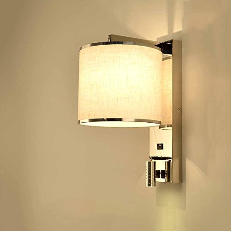 FHTD LED-Wandleuchte USB-Taste Wandleuchte Dual-Augenschutzschalter Moderne Lernen Nachttischlampe Studie Tischlampe Lernen Studie Lampe,Anupgradedversion