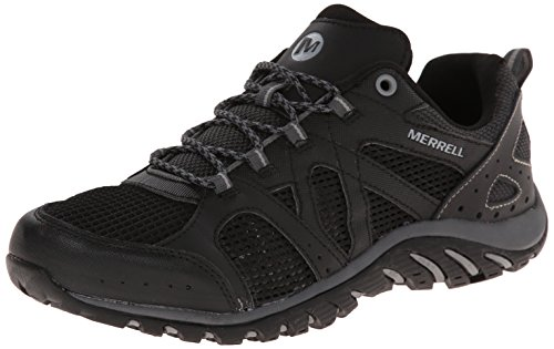 Merrell Men's Rockbit Cove Hiking Water Shoe, Black/Granite, 12 M US