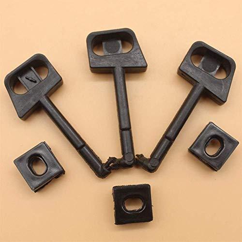 3 unids/lote palanca de barra de estrangulación para HUSQVARNA 136 136LE 137 137E 141 141LE 142 142E 36 41 piezas de motosierra