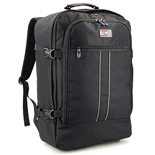 Large hand luggage backpack suitable for most airlines - lightweight cabin luggage men and women cabin luggage - hand baggage backpack