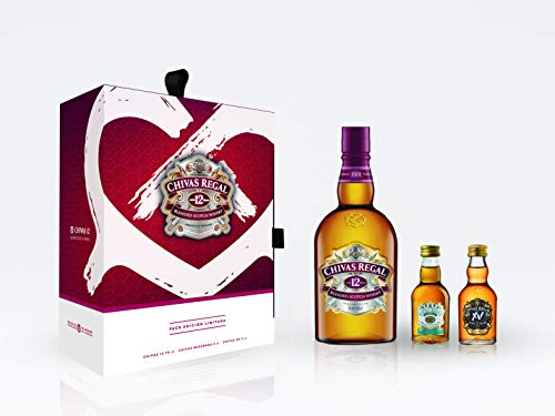 Set Chivas Regal 12 años 700 ml + 2 Miniaturas de regalo