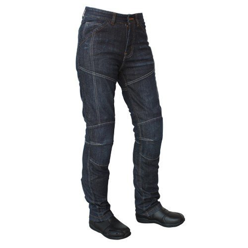 Black Roleff Racewear 456KXXL XXL Short Textile Motorcycle Trouser