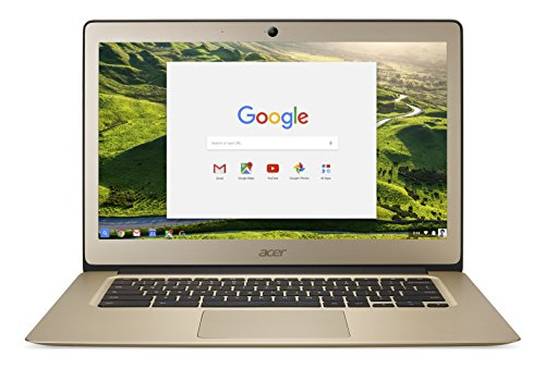 Acer Chromebook 14, Aluminum, 14-inch Full HD, Intel Celeron N3160, 4GB LPDDR3,...