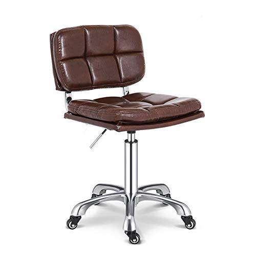 MAANDENG Massage stoel zadel voor rechtop zittende/kappersstoel, in hoogte verstelbaar, rolstoel/familie met zwenkwielen, kantoor/ladinglager 150kg