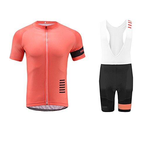 UGLY FROG Completo Abbigliamento Ciclismo Uomo,Invernale Termica Maglia Ciclismo + Pantaloni Lunghi Sapolette Ciclismo Professionale per MTB Ciclista Bici Auto da Corsa Body