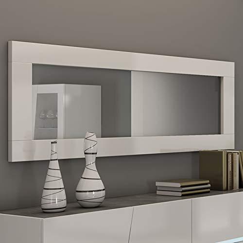 Kasalinea Miroir Blanc laqué Design Julia