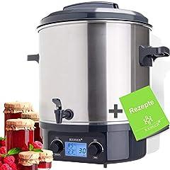 KESSER 27 Liter Glühweinkocher Glühweinkessel