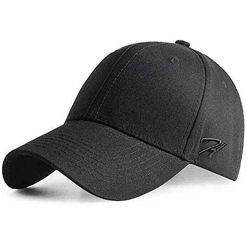 HASAGEI Baseball Cap Herren Damen Basecap Baseball Kappe Reine Farbe Baseboard Baseballkappe Cotton Cap für Tennis Golf Reisen