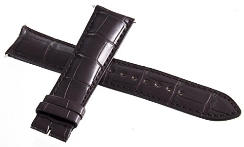 Jaeger Lecoultre mens OEM marrone in pelle Alligatore 21mm x 18mm
