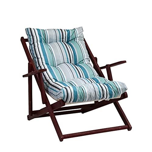 TECNOWEB Coussin rembourré pour fauteuil relax (115 x 55 x 21 cm) – 100 % fabriqué en Italie – Pièce de rechange idéale pour intérieur et extérieur (jardin, cour, terrasse).