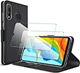 GESMA for Huawei P30 Lite case + tempered glass (2 pieces),