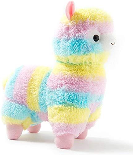LANCOLD - Peluche a Forma di Alpaca, 18 cm, Multicolore