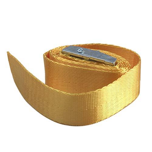 GeKLok Correa de amarre de 1/2 correas ajustables de trinquete para amarre de carraca