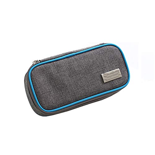 Bolsa De Insulina, Organizador Para Diabéticos, Portátil Para Viajes Nevera Paquete Con 2 Bolsas De Hielo Reutilizables (B)