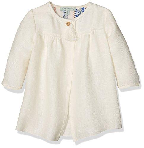 Nanos 17190119 Abrigo, Blanco (Crudo), 30M para Bebés
