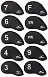Mizuno Japan 3-9,Pw,Sw,F (10 pieces) Iron Covers (Polyesther)