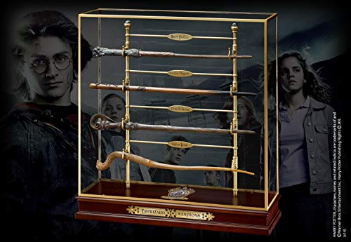 The Noble Collection The Triwizard Champions Varita mágica