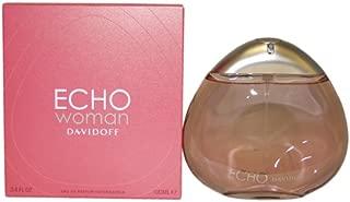 Zino Davidoff Echo Woman Eau De Parfum Spray for Women, 3.4 Ounce