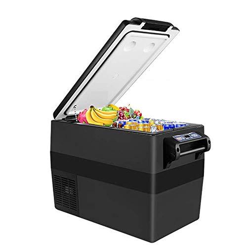 Tragbare Mini-Kühlschrank/Kleinwagen-Kühlschrank mit elektrischem Kompressor, Kompressor Einfrieren -20deg; C, 12V 24V 100-240V Digital-LCD-Panel Mutet, Outdoor-Camping-Reisen Van Auto Gefrierschran