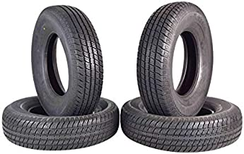 ST 225/75R15 Trailer Tire Traimate Load Range D 8 Ply Radial 225/75-15 4 Pack Tires 2257515 225 75 15 (4)