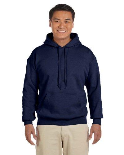 Gildan Men's Heavy Blend Drawcord Hooded Sweatshirt, XXXXX-Large, Navy