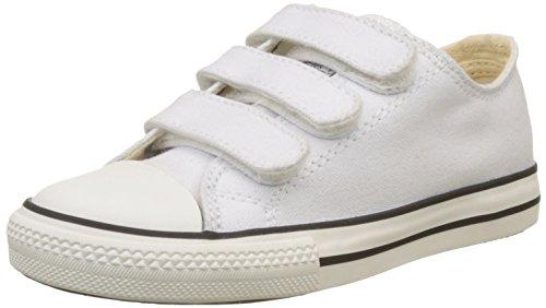 Victoria Zapato Basket Velcros, Zapatillas Unisex Niños, Blanco, 32 EU