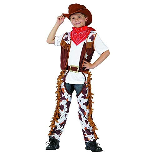 P'TIT Clown re98635 - Costume enfant cow boy, L 10/12 ans