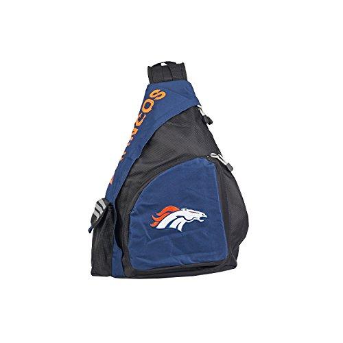 Slingbag con licencia oficial de la NFL 'Leadoff', multicolor, 20 pulgadas, Leadoff - Mochila bandolera, Azul, 20' x 9' x 15'