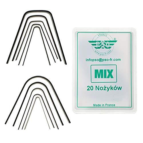 PSO 20x Schneidemesser für Reifen Set Mix C1-R5 Rillfit Rubber Cut Reifen Nachschneidmesser Profilmesser