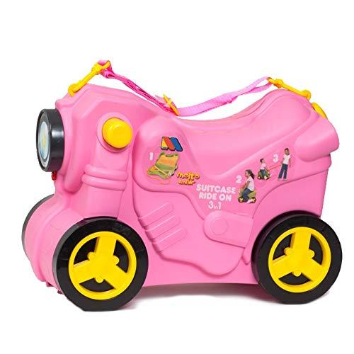 Maleta Infantil Molto Smiler Moto Maleta (Rosa)