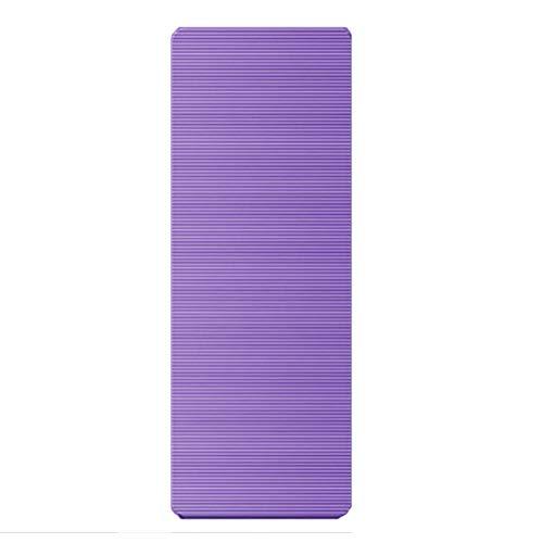 KDABJD Esterillas de yoga, 10 mm PVC Yoga Esterilla, Fitness Gimnasia Ambiental Alfombra antideslizante, Gimnasia Deportiva Colchonetas Camping Pesca Ejercicio Pad