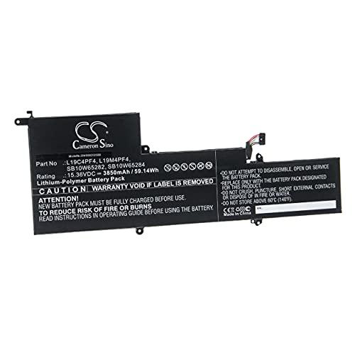 vhbw Batería Recargable Compatible con Lenovo Yoga 14s, 7 Slim 14ARE05, Slim 7-14ARE Notebook (3850 mAh, 15.36 V, polímero de Litio)