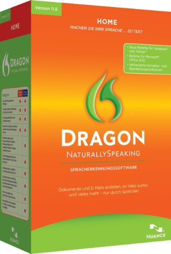 Nuance Dragon NaturallySpeaking Home 11.5