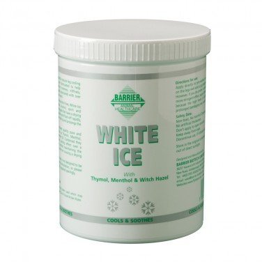 Barrier White Ice 1litre - Naturally cool and help relieve soreness, stiffness, abrasions, swelling, strains & sprains. by William Hunter Equestrian