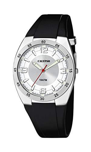 Calypso Watches Reloj Analógico para Unisex Adultos de Cuarzo con Correa en Plástico K5753/1