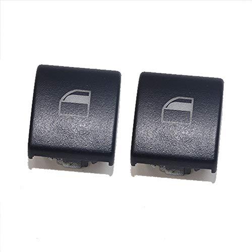 ZhiDuoXing Botón del elevalunas eléctrico Interruptor Tapa de la Consola Tapas/Apto para -B-M-W 3 Series E46 (X5 X3) / (Color : 2pcs)