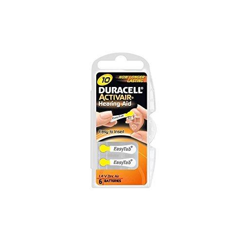 Duracell Activair Hörgerätebatterien 120 Stück Typ 10