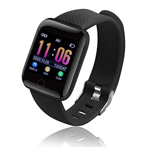 Smart Watch Bluetooth, Reloj Inteligente Mujer Hombre Smartwatch Pulsómetro,Cronómetros,Calorías,Monitor de Sueño,Podómetro Pulsera Actividad Inteligente Impermeable