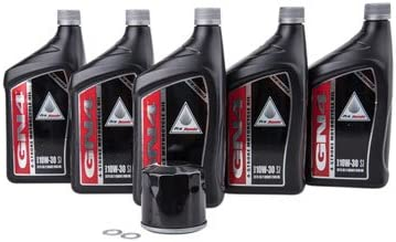 Luxury Oil Change Kit With Pro-Honda GN4 Honda 10W-30 Africa for C Twin Dedication