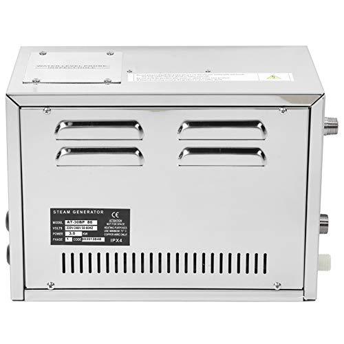 CHICIRIS Generatore di Bagno di Vapore, generatore di Vapore per Forniture di Bagno Turco, Attrezzatura per Bagno Turco per Salone di Bellezza