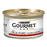 Gourmet Solitaire Beef with Tomato Sauce and Spinach, 85 g - Pack of 12