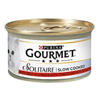 Prime morsels with beef are slowly cooked, ensuring a tender texture and exquisite taste Provides complete and balanced nutrition to adult cats (aged 1-7 years) Presented in a savoury sauce for true enjoyment Created with carefully sourced, high qual...