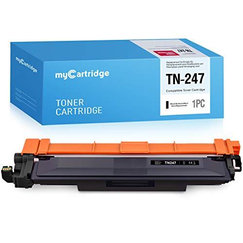 MyCartridge Kompatibel Brother TN-247BK Toner(Mit Chip) für Brother HL-L3210CW,HL-L3230DW,HL-L3270DW,MFC-L3710CW,MFC-3730CDN,MFC-L3750CDW,MFC-L3770,DCP-L3510CDW,DCP-L3550CDW,DCP-L3517CDW (1*Schwarz)