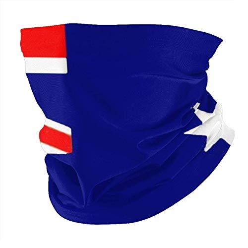 Lawenp Bufanda caliente Unisex Face Bandana Flag Of Australia Protection Sun Uv Dust Protection Breathable-Head Wraps