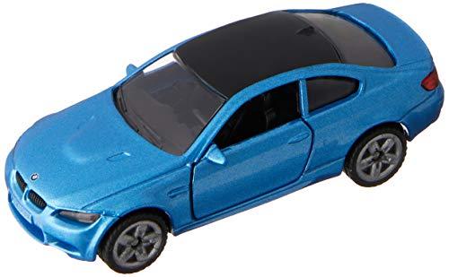 SIKU 1450, BMW M3 Coupé, Metal/Plástico, Azul, Vehículo de juguete para niños, Apertura de puertas