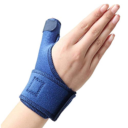 WOVELOT Handgelenkbandagen für Daumen, gegen Verstauchungen, Handgelenk, Sehnenscheide, Bruch, Feste Maus, Fingerkorrektur, Sport, rechts